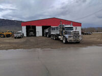 Gravel truck drivers needed for year round work in BC