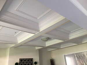 Crown Moulding Coffered Ceiling Wainscoting Baseboard Oakville / Halton Region Toronto (GTA) image 8