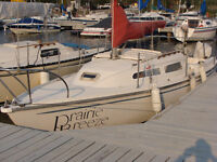 23FT. COLUMBIA SAILBOAT FOR SALE