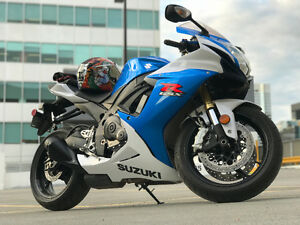 2013 Suzuki GSX-R 750 SPOTLESS FOR SALE BY THE FIRST OWNER