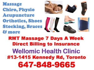 Use your health insurance, only $60/hr RMT Massage