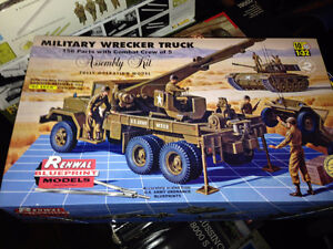 discontinued 2013 revell SSP renwal 1/32 Military Wrecker Truck