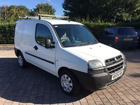 2004 FIAT DOBLO CARGO 1.9 JTD NEW 12 MONTHS MOT, 1 FORMER OWNER FROM NEW, NO VAT