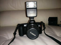 Canon EOS Rebel X 35mm Camera with 35-80mm & 28-80mm lens