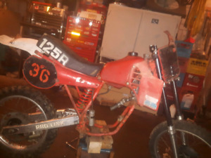 1982 cr 125 part out or sell whole
