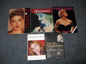 Madonna books $5 each or $20 for the lot of 5