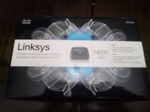 Linksys media connector wireless