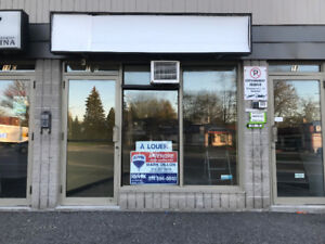 MONTREAL-WEST ISLAND - RETAIL COMMERCIAL SPACE FOR RENT