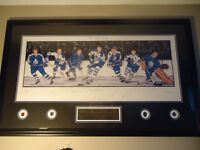 Hockey TML Limited Edition 7 Signature Framed Lithograph W/COA!