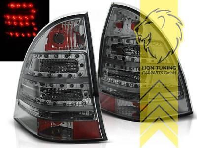 LED Rückleuchten Heckleuchten für Mercedes Benz W203 T-Modell C-Kl schwarz smoke