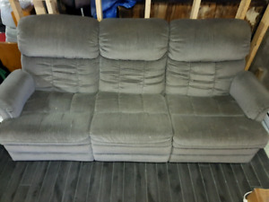 Sofa 3 place et 1 place inclinable