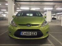 Ford Fiesta 1.4 Zetec 5dr Green Parking Sensor Low mileage 3 month warranty