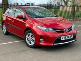 image for TOYOTA AURIS 1.8 HYBRID AUTOMATIC (2013) FULL TOYOTA HISTORY, PETROL/ELECTRIC