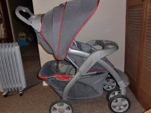 Safety 1st delux baby carriage to stroller
