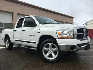 2006 Dodge Ram 1500 4X4 QUAD CAB = ONE OWNER = 5.7L HEMI