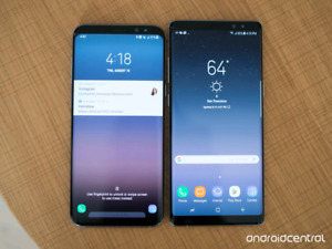 Échange / Trade samsung s8 plus for galaxy note 8