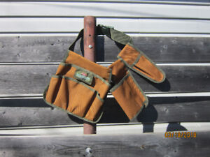 Tool holder strap on waist style