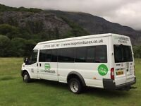MINIBUS HIRE - 16 SEATERS - TRAVEL TO EUROPE TOO - MALE & FEMALE DRIVERS - QUICK QUOTES EVERYDAY!!!
