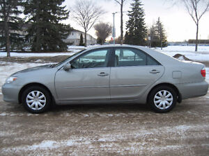 2005 TOYOTA CAMRY LE - NOW BLOW OUT PRICED AT $3900