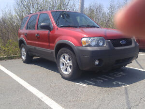 2007 Ford Escape SUV, NEW ROTORS AND PADS,UNDERCOATED
