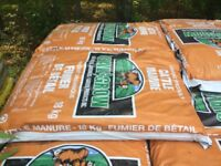 Cattle & Sheep Manure 3 bags $9.99