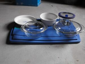 PYREX AND CORNING WARE DISHES