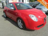 2009 Alfa Romeo Mito Hatch 3Dr 1.4TB 155 Lusso 6Spd Petrol red Manual