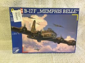 B-17F Memphis Belle Flying Fortress 1:48 scale Revell.