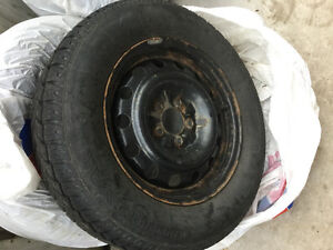 "(4)   16"" Winter Tires With Rims"