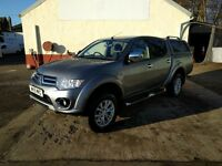 Mitsubishi L200 WARRIOR LWB DOUBLE CAB DI-D 4X4 AUTO (grey) 2015