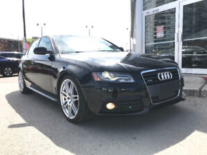 2010 Audi A4 S-Line with Premium Plus Fully Loaded