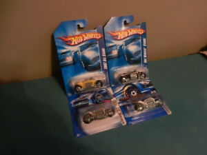 Hot Wheels Dodge Tomahawk Lot of 4 Variations First Edition