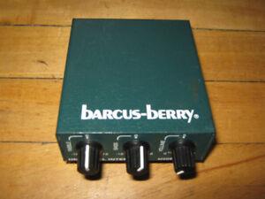 Rétro Pré-ampli pour guitare ou micro Bacus-Berry