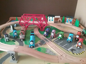 Thomas trains and an imaginarium train table