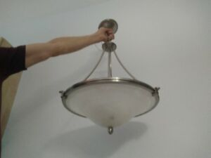 Two Identical Light Fixtures for Sale