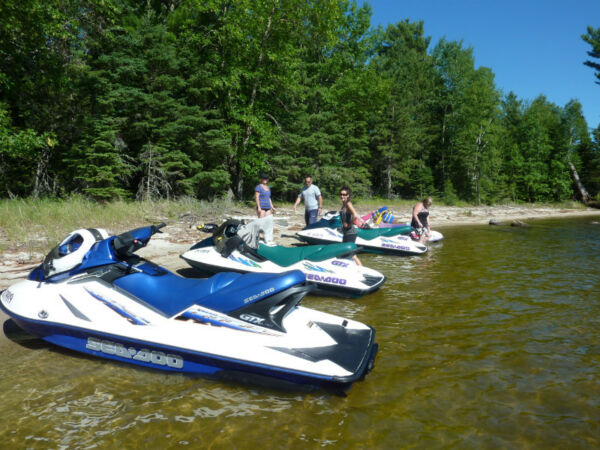 Used 2002 Sea Doo/BRP 2002 GTX/1998 GTX with a 2012 Trailer..