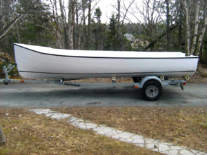 Looking for 16 ' open boat moss boat ,skiff style.