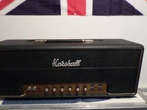 1997 marshall superlead.1959 reissue head and a 4x12 vintage cab