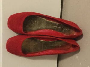 BCBGeneration beautiful red ladies shoes