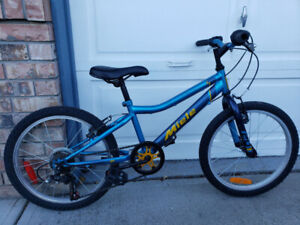 "Kids 20"" wheel Miele bike."