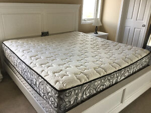 2 Year Old King Size Mattress and Boxspring