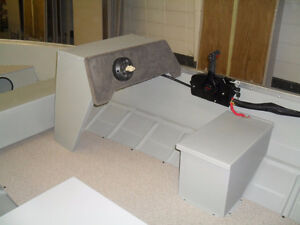Mirrocraft Deep V with Steering Console and 20HP