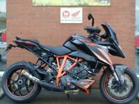 KTM 1290 SUPERDUKE GT WOTH AUSTIN RACING PIPE, CRASH BARS AND TAIL TIDY
