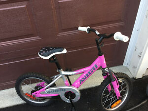"Girls 16"" Avigo Bike Brand New Condition"