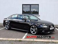 """Brand NEW 19"""" TTRS Style Alloys & Tyres fits Audi A4, A5, A6, etc***** 5-112"""