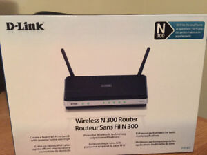 Used D-Link N300 Wireless Router