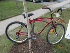 BMX BIKE,COASTER BRAKE.MENS CRUISER VERY NICE.SPORTEK BMX.
