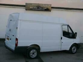 FORD TRANSIT T260S 2.2 TDCI MEDIUM MID HIGH ROOF SWB WHITE PANEL VAN NO VAT !!!