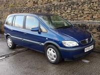 Vauxhall/Opel Zafira 1.6i 16v LPG 2005MY Design
