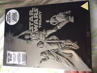 Signed Star Wars DVD set 4,5,6 and bonus disk